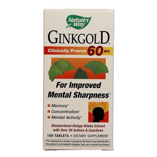 Nature's Way Ginkgold - 100 Tablets - 033674067352_1.jpg