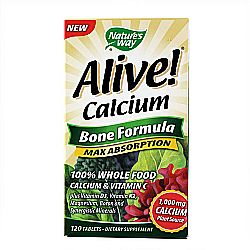 Nature's Way Alive! Whole Food Calcium