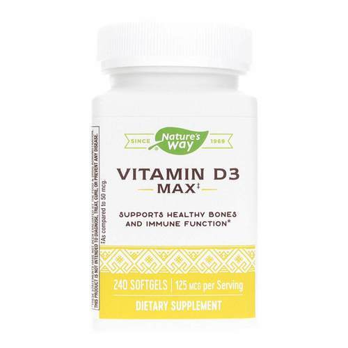 Nature's Way Vitamina D3 5,000 IU - 240 Gel suave - 53738_front.jpg