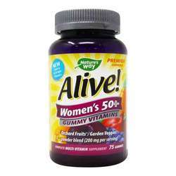 Nature's Way Alive Women's 50+ Gummy Vitamins