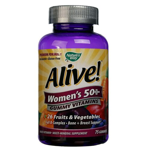 Alive Women's 50+ Gummy Vitamins