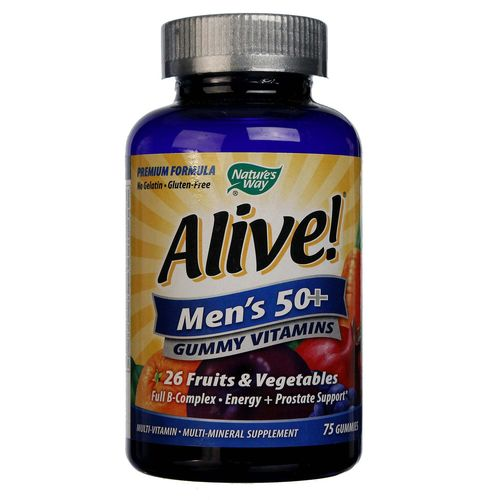 Alive Men's 50+ Multivitamin - Multimineral