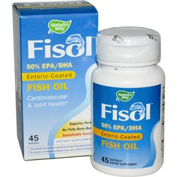 Nature's Way Fisol Enteric Coated Fish Oil