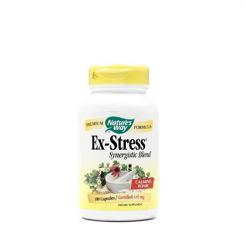 Nature's Way Ex-Stress Synergistic Blend   - 100 Caps - 033674000502_1.jpg