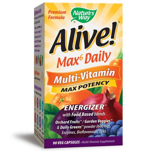 Alive! Multi-Vitamin Max Potency