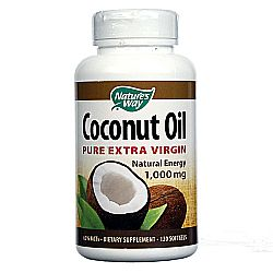 Nature's Way Coconut Oil 1,000 mg