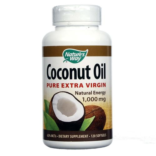 Coconut Oil 1,000 mg