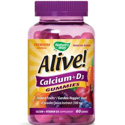 Nature's Way Alive! Calcium + D3 Gummies