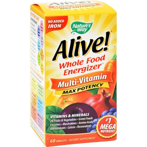 Alive! Multivitamin No Iron