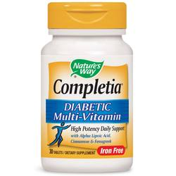Nature's Way Completia Diabetic Multivitamin