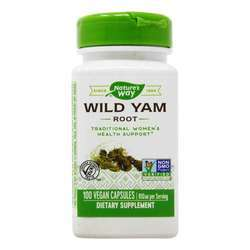 Nature's Way Wild Yam Root 850 mg