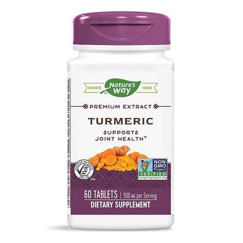 Nature's Way Turmeric  - 500 mg - 60 Tablets - 7959_front2020.jpg