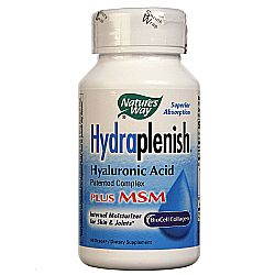 Nature's Way HydraPlenish Hyaluronic Acid w MSM