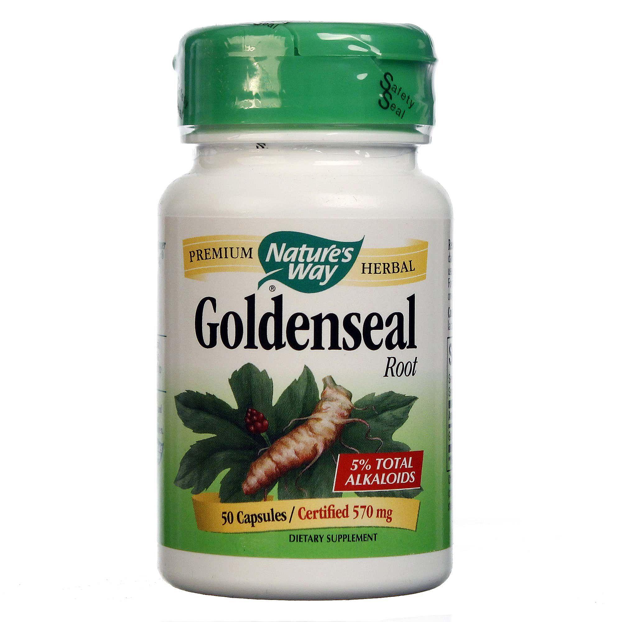 Nature S Way Goldenseal Root  Mg  Capsules