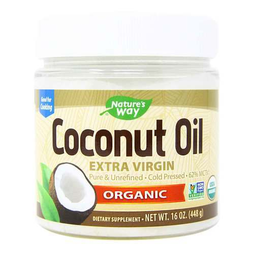 Nature's Way Organic Extra Virgin Coconut Oil - 16 oz (454 g) - 8675_front2020new.jpg