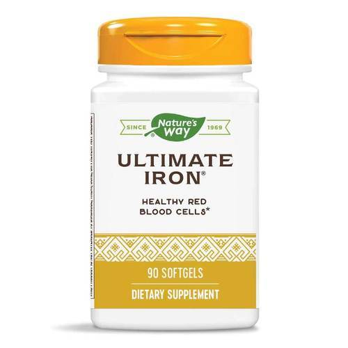 Enzymatic Therapy Hierro Ultimate - 90 Geles - 9233_front2020.jpg