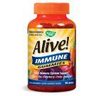 Alive! Immune Gummies 90 Gummies Yeast Free by Nature's Way