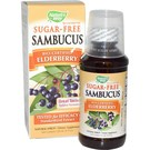 Nature's Way Sambucus Black Elderberry Syrup - Sugar Free - 4 fl oz