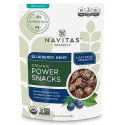 Navitas Naturals Blueberry Hemp Superfood Power Snack