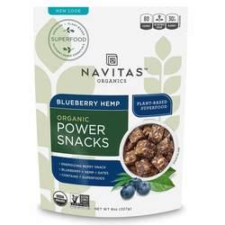 Navitas Naturals Blueberry Hemp Superfood Power Snack