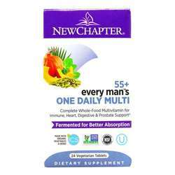 New Chapter Every Man's One Daily Multi 55+