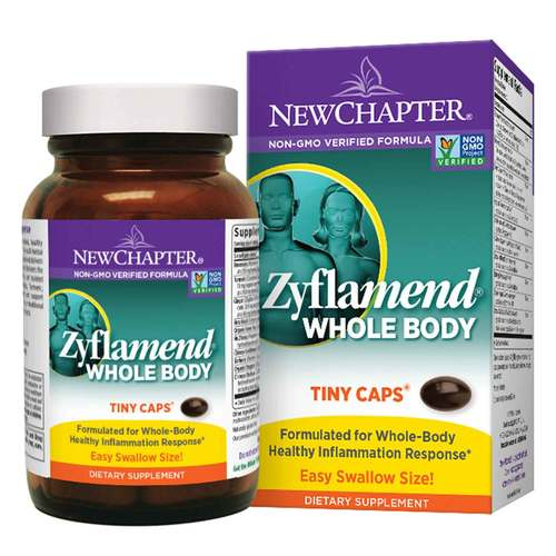 New Chapter Zyflamend Whole Body - East to Swallow  - 180 Mini Soft Gels - 350647_front.jpg