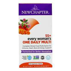 New Chapter Every Woman One Daily Multi 55 Plus