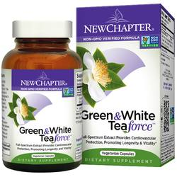 New Chapter Green and White Tea Force