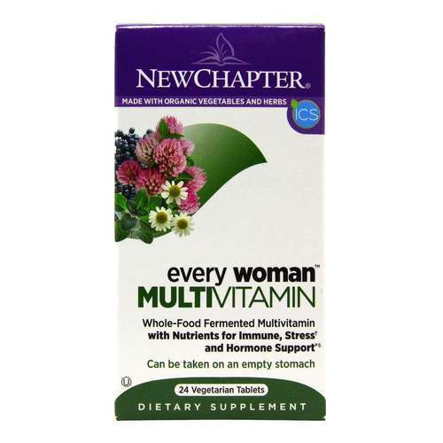 New Chapter Every Woman Multivitamin  - 24 Tablets - 4591_front2020.jpg