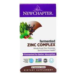New Chapter Fermented Zinc Complex