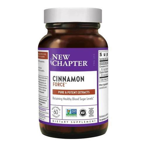 New Chapter Cinnamon Force - 60 Vegetarian Capsules  - 8273_front2021.jpg