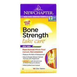 New Chapter Bone Strength Take Care Slim Tabs