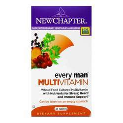 New Chapter Every Man Multivitamin