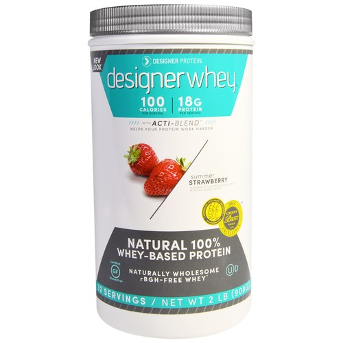 Next Proteins Designer Whey Protein Strawberry - 2 lb - 2687_01.jpg