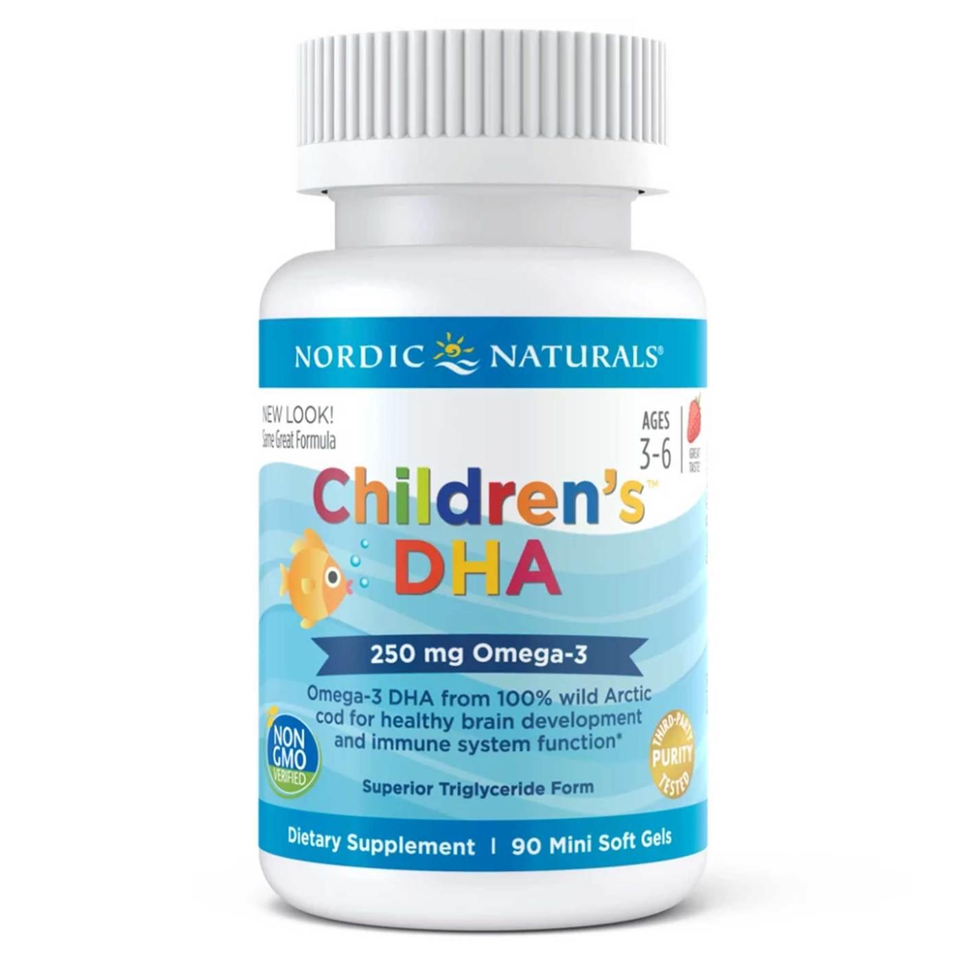 40c50c4d655 Comprar Nordic Naturals DHA para niños Strawberry 90 cápsulas ...