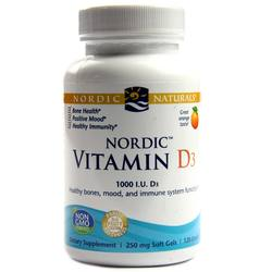Nordic Naturals Vitamin D3 1000 IU