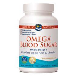 Nordic Naturals Omega Blood Sugar 896 mg