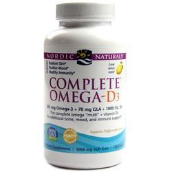 Nordic Naturals Complete Omega-D3 1000 mg