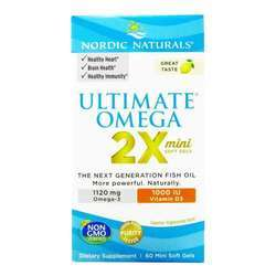 Nordic Naturals Ultimate Omega 2X 1120 mg with D3 1000 IU