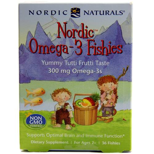 Nordic Omega-3 Fishies 300 mg