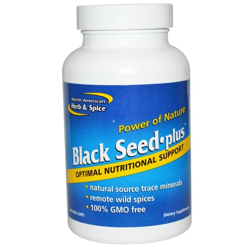 North American Herb And Spice Black Seed Plus  - 90 VCapsules - 7012_01.jpg