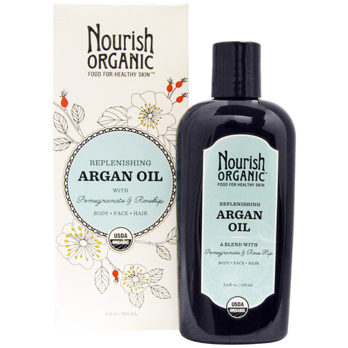Replenishing Argan Oil with Pomegranate and Rosehip