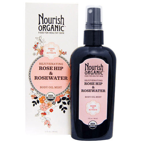 Rejuvenating Rose Hip and Rosewater Body Oil Mist