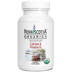 Nova Scotia Organics Calcium and Vitamin D3 450 mg