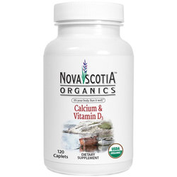 Nova Scotia Organics Calcium and Vitamin D3