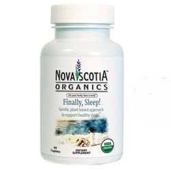 Nova Scotia Organics Finally- Sleep!