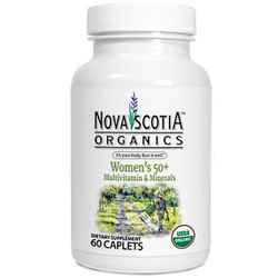 Nova Scotia Organics Women's 50 Plus Multivitamin and Minerals