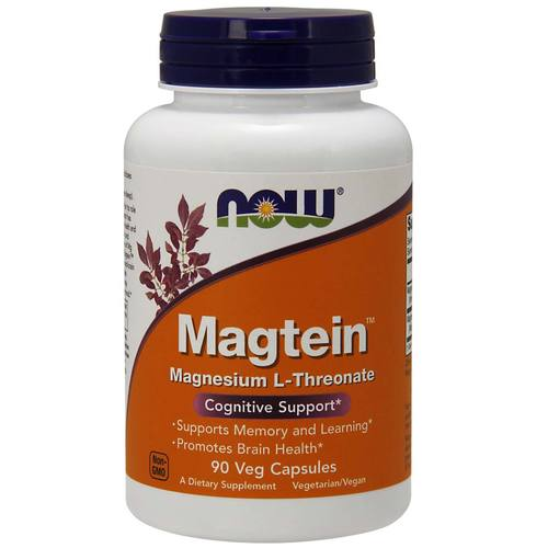 Now Foods Magtein  - 90 VCapsules