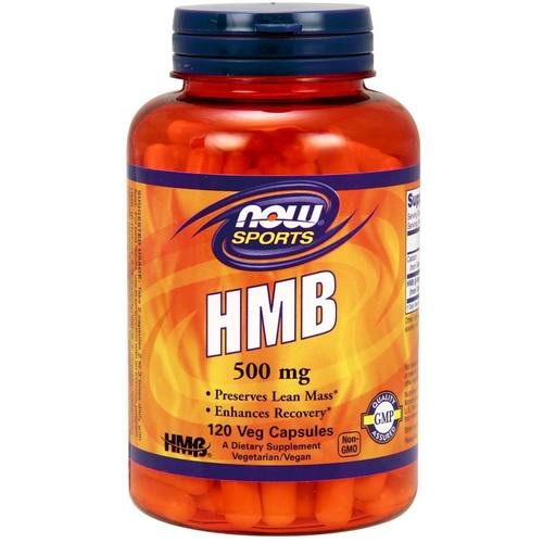 Now Foods HMB 500 Mg  - 120 Vegetarian Capsules