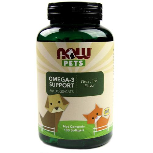 Omega-3 Support for Dogs and Cats